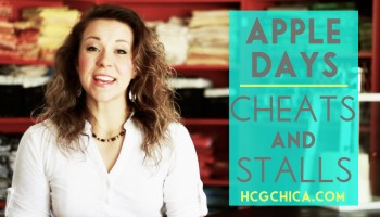 Are apple days good for cheats and stalls on the hCG Diet? - hcgchica.com