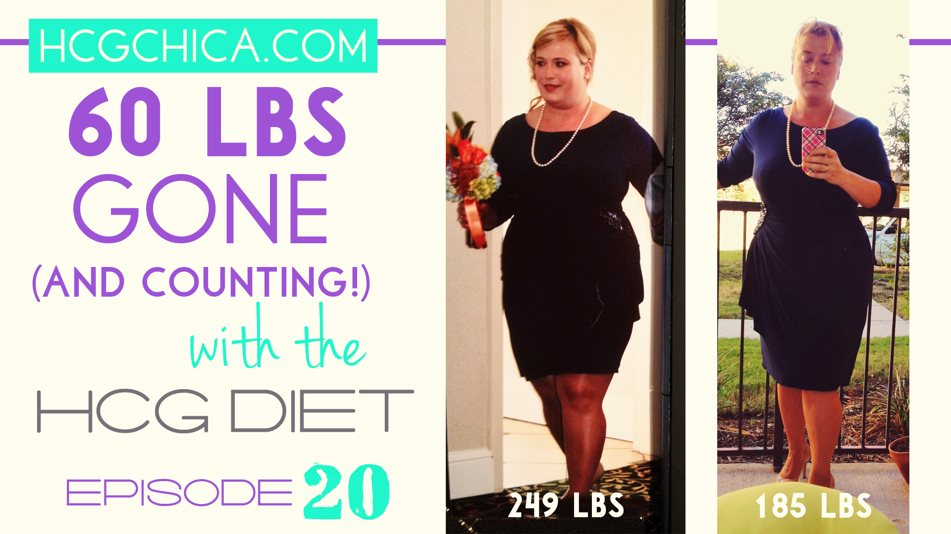 HCG Diet Interviews - Episode 20 - 60 lbs Lost in 12 weeks - hcgchica.com