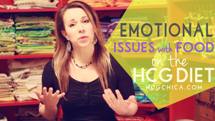 Struggles on the HCG Diet #5- Emotional Issues related to Eating and Food