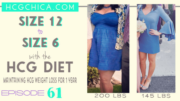 hCG Diet Interviews – Size 12 to Size 6 – 200lbs to 145 lbs – Episode 61