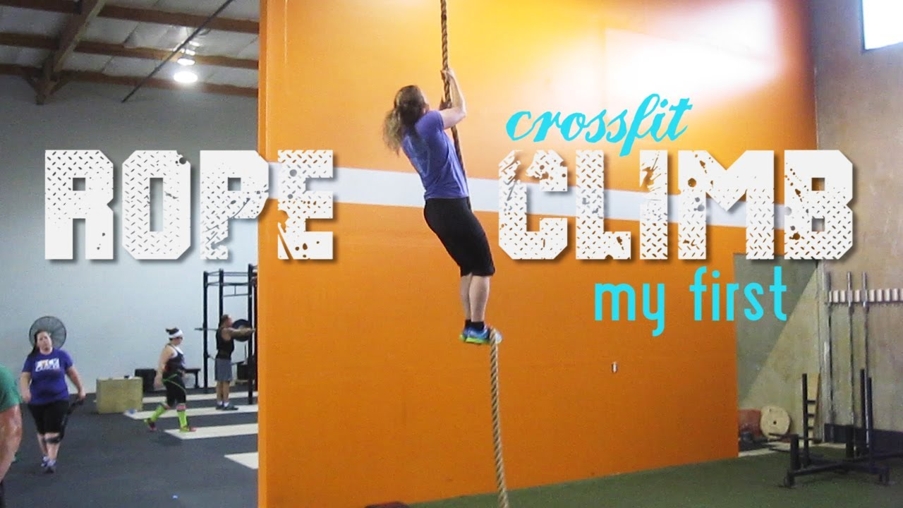 My first Rope-Climb at Crossfit!