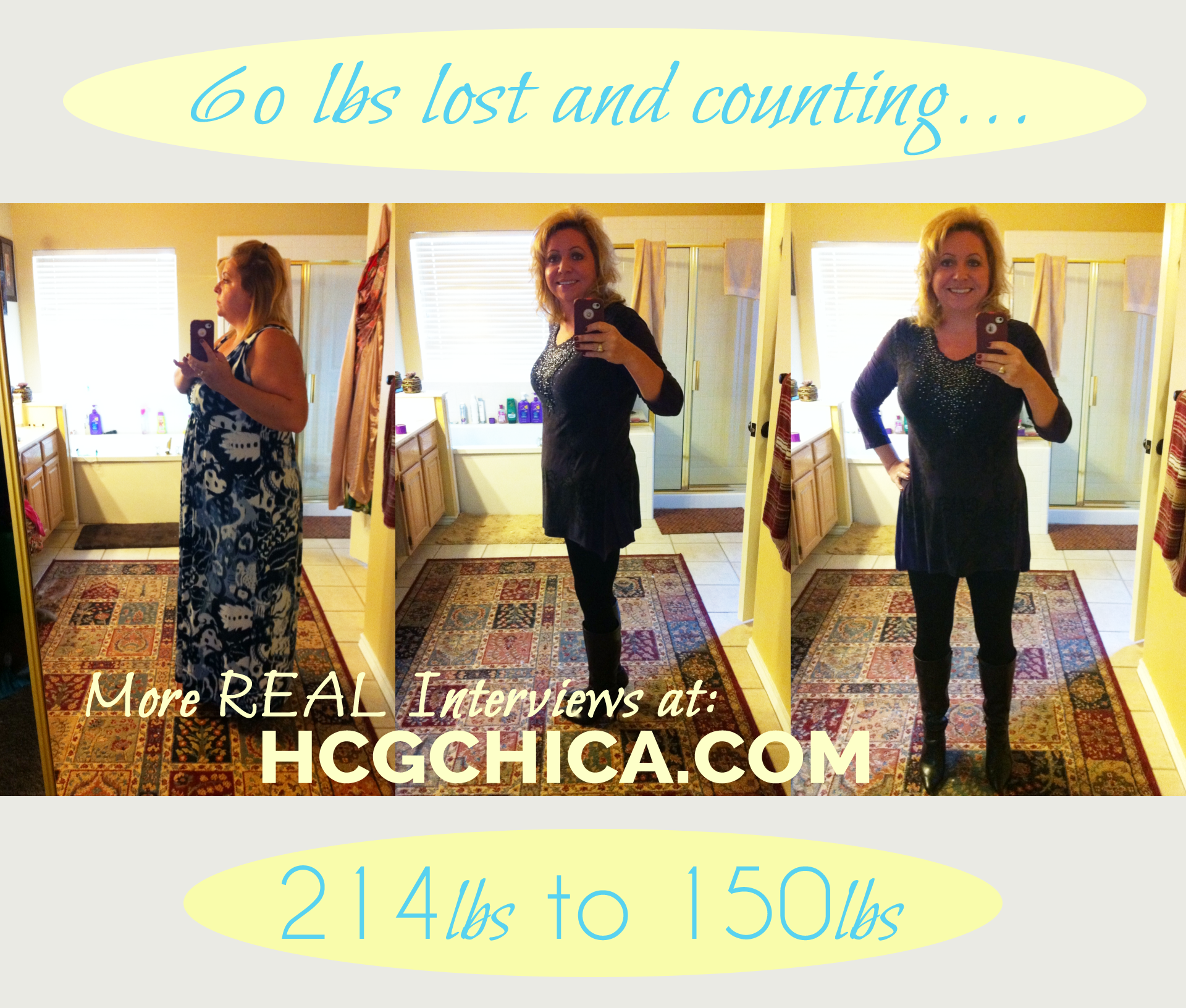 hCG Diet Results - 65lb Weight Loss in 5 Months - Episode 4