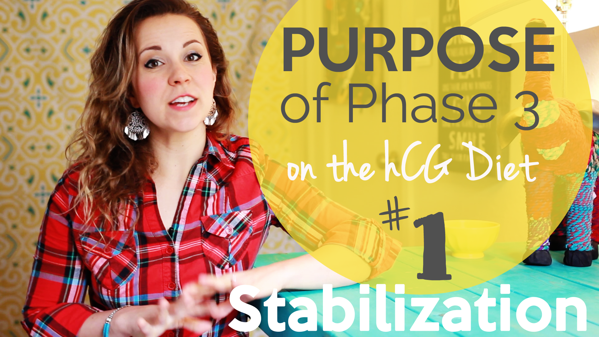 Phase 3 of the hCG Diet- the PURPOSE of P3 - #1 - Stabilization- hcgchica.com