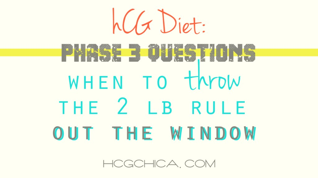 Phase 3 hCG Weight Maintenance - Exercise in Phase 2 - hcgchica.com