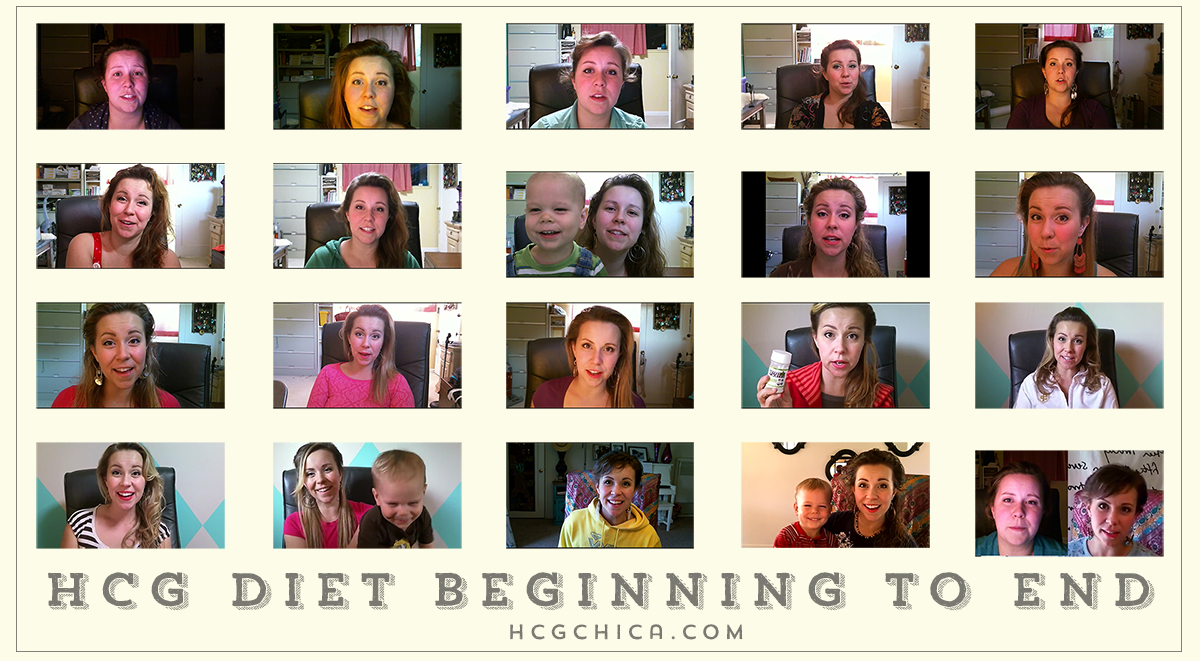 hCG Diet Face Pics During hCG Weight Loss Journey - watch my face shrink! - hcgchica.com