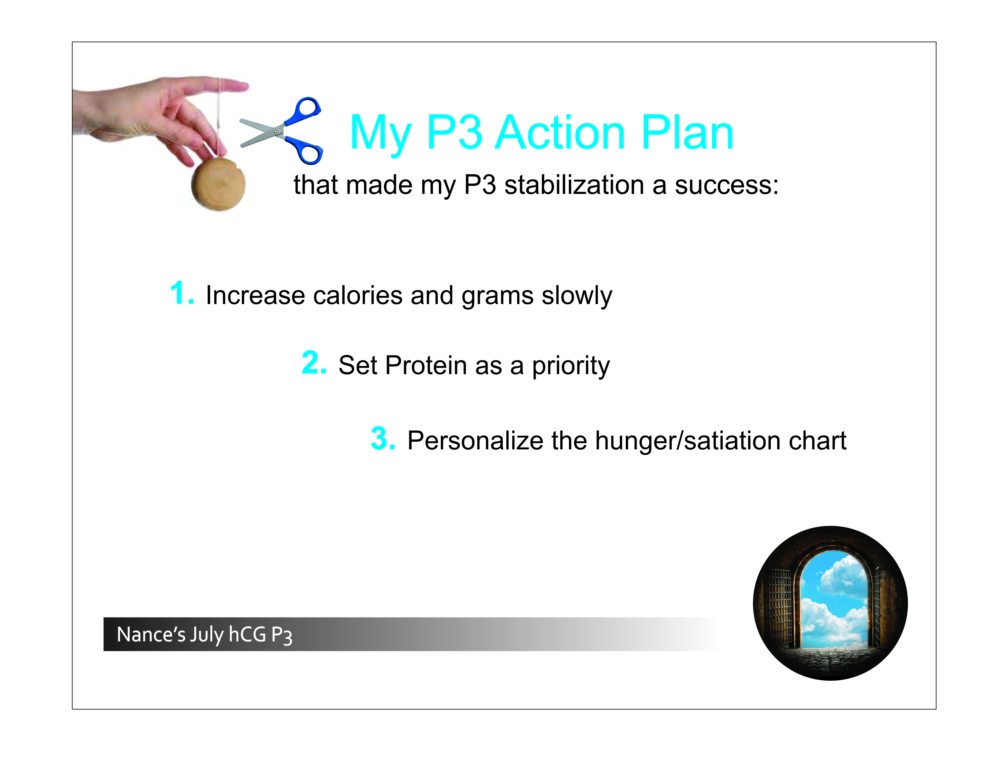 Nance 3 pts Action Plan for Stabilization